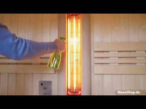 Infrarot für Sauna Vitallight IPX4 Strahler