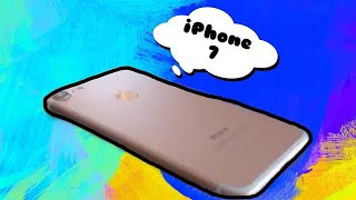 Что есть в моём телефоне. iPhone 7