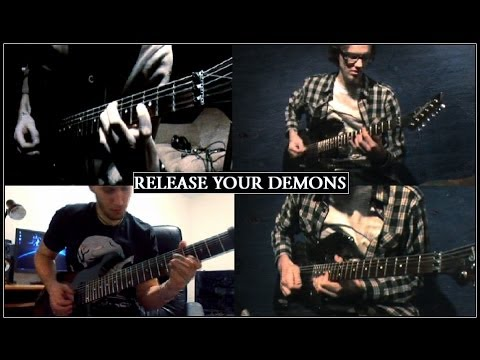Marcell Roncsák ft. Kyle Hunter & Ivan Kis - Release Your Demons (original tech. metal instrumental)