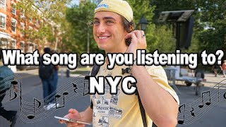 What Song Are You Listening To? NEW YORK CITY