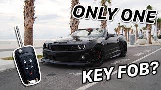 2010-13 Camaro Key Fob Programming NO SPARE KEY METHOD
