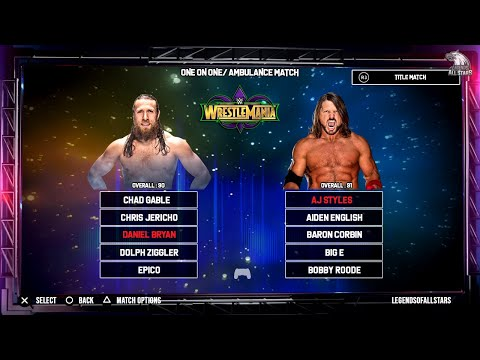 WWE 2K19 FULL ROSTER - 200+ Superstars - RAW, SDLive, NXT