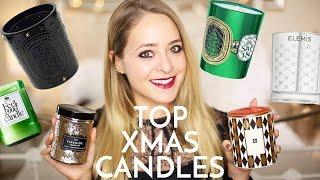 Top 10: CHRISTMAS CANDLES!   Fleur De Force