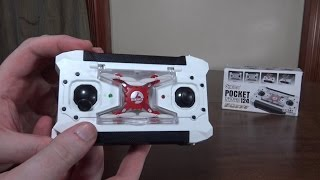 Sbego - FQ777-124 Pocket Drone - Review and Flight