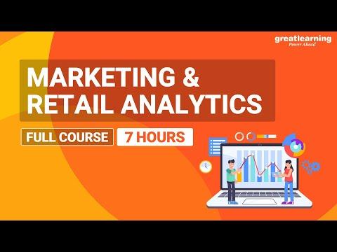 Marketing & Retail Analytics | Marketing & Retail Analytics Tutorial for Beginners | Great Learning
