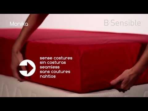 b·sensible Spannbettlaken und Matratzenschutz 2 in 1
