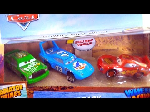 Best Learning Video For Children - Opening Disney Cars 3 Toys Finger Family Playset