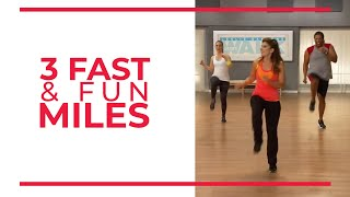 3 Fast & Fun Miles   Mile 3 | Walk At Home Workout
