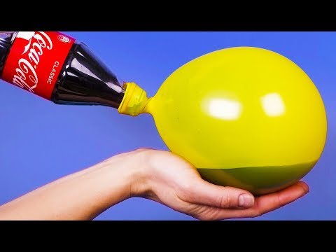 15 SURPRISING HACKS AND CRAFTS WITH BALLOONS