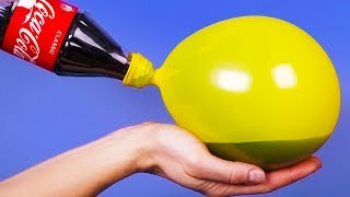 15 SURPRISING HACKS AND CRAFTS WITH BALLOONS - Video Youtube