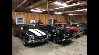 LS6 Chevelle Hoarder Lets Me See Inside His Garage!!!