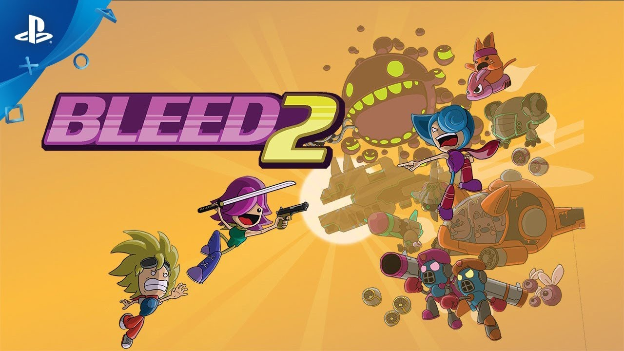 Fast-Paced Shooter Bleed 2 Launches Next Week on PS4
