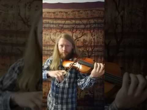A quick run-through of a great Irish reel, The Exile of Erin. The violin sings, but the fiddle dances!