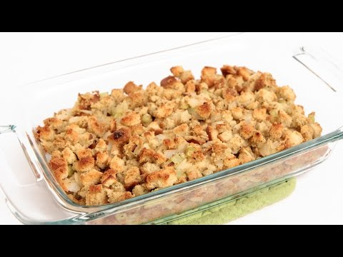 Classic Stuffing Recipe – Laura Vitale – Laura in the Kitchen Episode 843