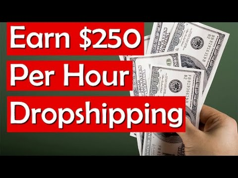 How To Make Money Dropshipping On Amazon, eBay, AliExpress and Walmart 2017