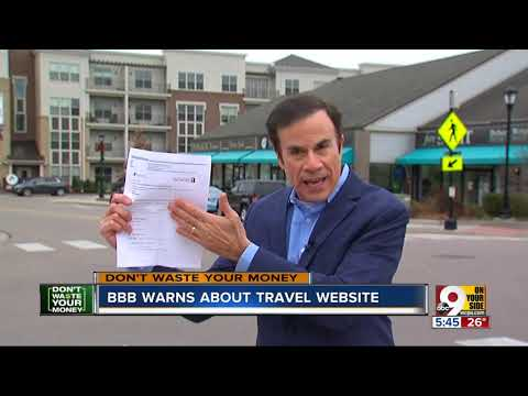 DWYM: BBB warns about travel website