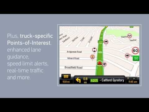 Video of CoPilot Truck Europe Region