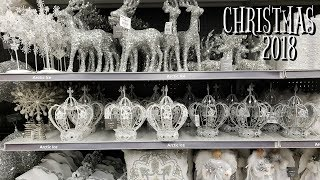CHRISTMAS!! HOLIDAY GLITZ SHOP WITH ME AT HOME STORE WALK THROUGH 2018