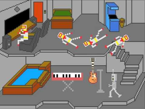 This 8-Bit Atari Homage Takes The 'Cake'