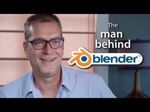 """""""Money doesn't interest me"""" - Creator of Blender talks about its future"""