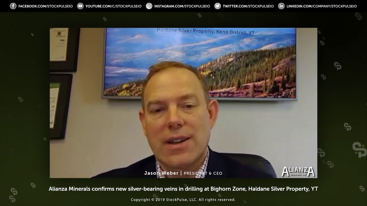 Alianza Minerals confirms new silver-bearing veins in drilling at Bighorn Zone, Haldane Silver Prope