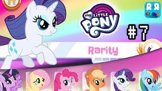 My Little Pony Rainbow Runners - Part 7 | Rarity Solo Quest
