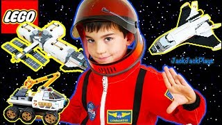 Lego City Space Vehicle Sets And Astronaut Costume Pretend Play