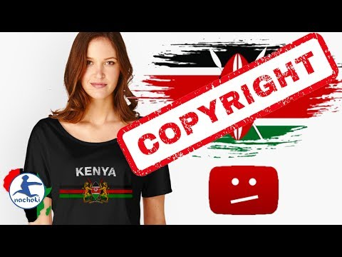 The Kenyan National Anthem has been falsely copyright claimed by the UK-based company De Wolfe Music