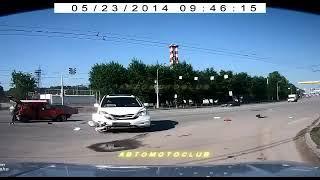 Невероятные дтп и аварии на дорогах