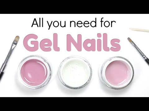 Hard Gel Nail Beginner Kit ? Products to get started