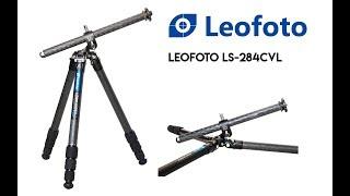 Leofoto LS 284 CVL Carbon Fiber Tripod & LH 36 Ballhead GARANSI RESMI