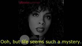 "Donna Summer - Melanie LYRICS SHM ""I'm a Rainbow"" 1981"