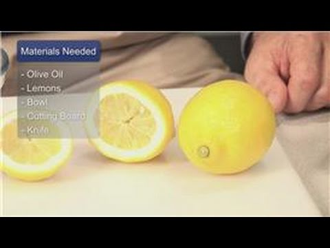 Video Oil Treatments & Recipes : How to Treat Kidney Stones With Lemon Juice and Olive Oil