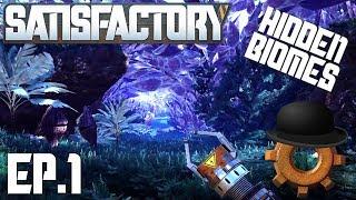 Satisfactory Alpha Ep#1: Alien Forest