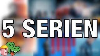 5 Netflix Serien, die ihr UNBEDINGT schauen solltet 👍