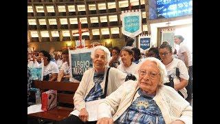 Homenagem do Senatus Rio à irmã Yolanda Ribeiro