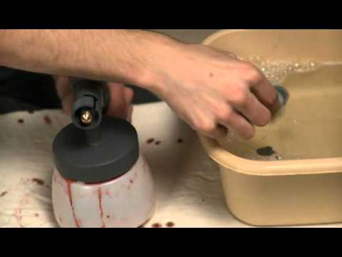 Cleaning Instructions Expert Spray Gun