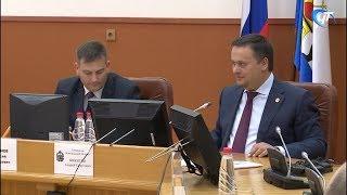 Губернатор Андрей Никитин встретился с депутатами вновь избранной Думы Великого Новгорода
