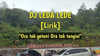 DJ ORA TAK GETUNI ORA TAK TANGISI...