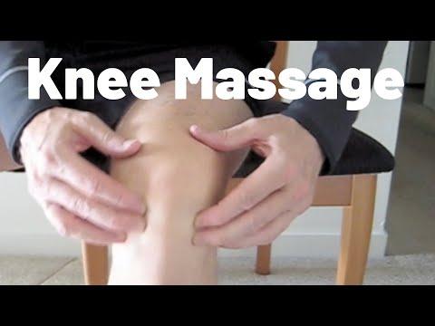 Kelių masažas – savarankiškai