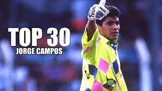 TOP 30 ● Mejores Atajadas de Jorge Campos