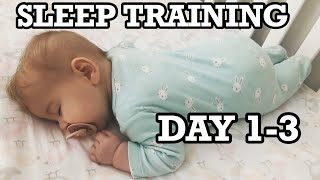 SLEEP TRAINING / CRY IT OUT MODIFIED / TRANSITION FROM ROCK-N-PLAY / 5 MONTHS OLD