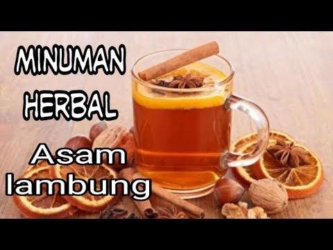 Minuman herbal asam lambung