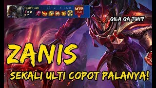 MAKE ZANIS FT NASIUDUK? AUTO MVP COY!! - ZANIS GAMEPLAY ARENA OF VALOR #zanisgameplay #arenaofvalor