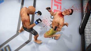 СМЕРТЕЛЬНЫЙ КОНЕЦ от ТАЙСКОГО СТИЛЯ в МИРОВОМ ТОП 10 UFC 3 АНДЕРСОН СИЛЬВА НОКАУТЫ