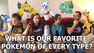 What Is Our Favorite Pokemon From Every Type?