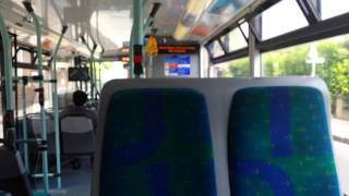 preview picture of video 'Journey on the 281 (SP109 YR59FYO) Scania Omnicity 10.8m'