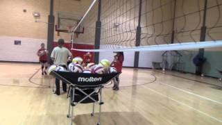 Coronado Volleyball Drills: Pit Drill