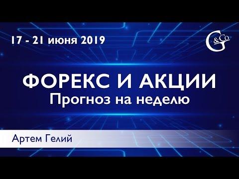 Прогноз форекс на неделю: 17.06.2019 – 21.06.2019
