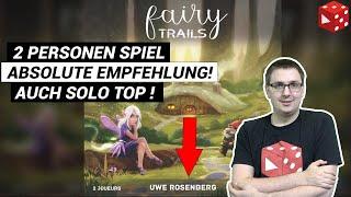 Fairy Trails (Uwe Rosenberg) - Absolut empfehlenswertes, kurzes Spiel für 2 Spieler - inkl Solomodus